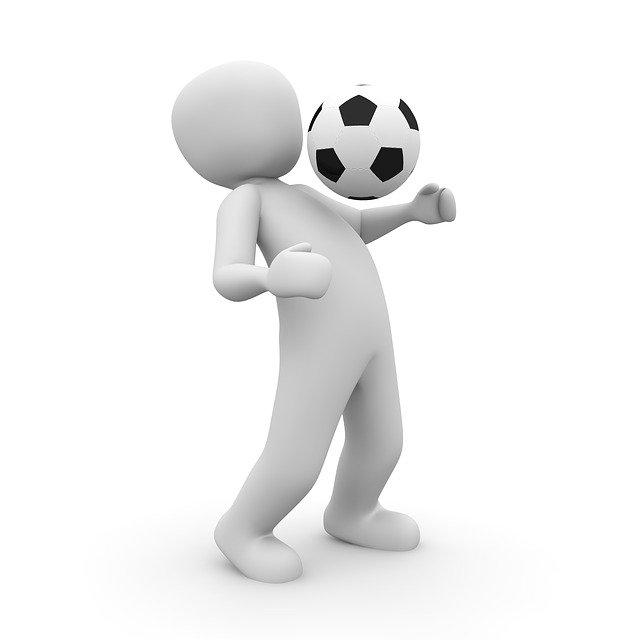 anonymní fotbalista