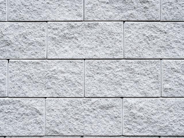 betonová stěna, šedá